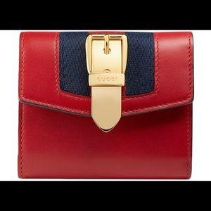 Authentic Like New Gucci Sylvie Wallet